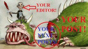 Hiring editor