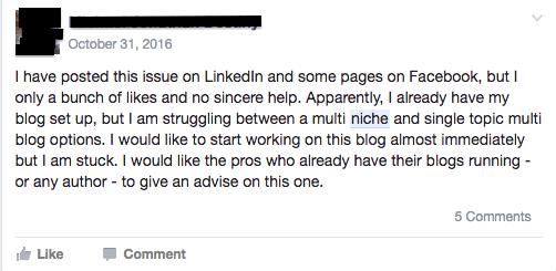 freelance writing niche