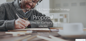 freelance proposal template